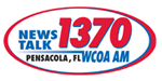 News Talk 1370 AM WCOA logo