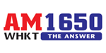 AM 1650 WHKT The Answer logo