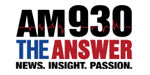 AM 930 The Answer logo
