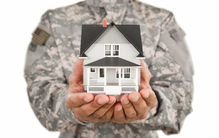 VA veteran affairs loan mortgage refinance image