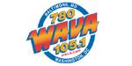 WAVA 105.1 FM 780 AM logo