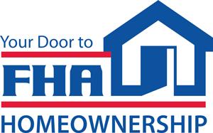 FHA loans home buying mortgage program logo