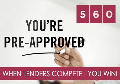When Lenders Compete - You Win!