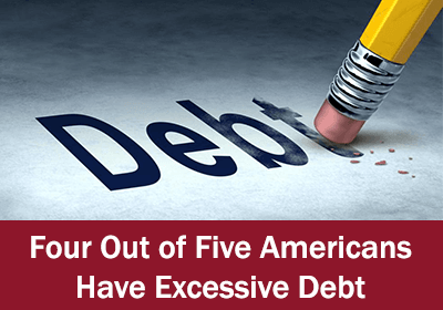 excessive debt