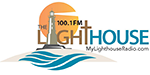 The Lighthouse 100-1 FM Logo