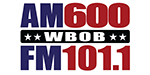 WBOB_AM 600_FM 101-1_Logo