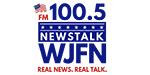 WJFN Newstalk FM 100-5 Logo