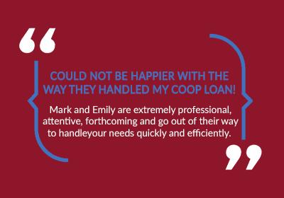co-op loan testimonial
