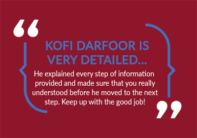 kofi testimonial